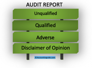 4 types of audit report